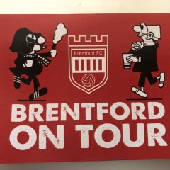 BRENTFORD ON TOUR STICKER