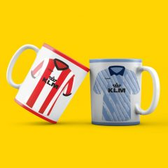 Mug – Home + Away Retro on 1 mug