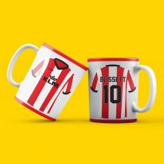 Mug – Home Retro –  Custom name and number