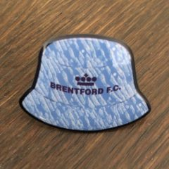 Badge – Away Retro Bucket hat