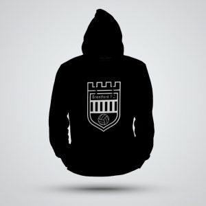 Hoodies – Large white logo