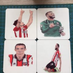 Coaster – Player Coasters – Pack of 2