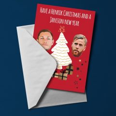 Christmas card – Henrik and Jansson