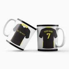 Mug – 2019-2020 away kit – Custom name and number