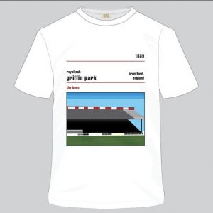 TShirt – Royal Oak Griffin Park stand