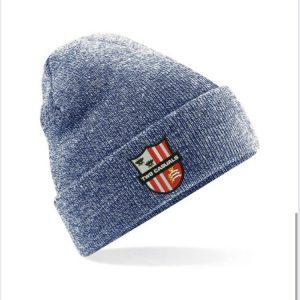Beanie hat with embroidered TW8 Logo
