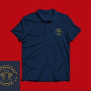Polo – Embroidered – we are Premier League Gold
