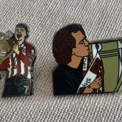 Canos + Frank Promotion team pin badge – Set 1