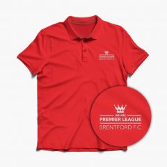 Polo – Embroidered – We are Premier League