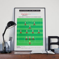 Poster – Subbuteo play off final team