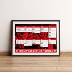 Poster – Fixture List 2021/2022